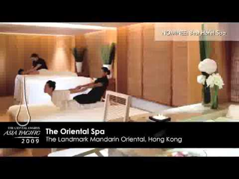 The Crystal Awards Asia Pacific 2009 - Best Hotel Spa