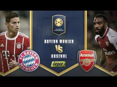 LIVE : Bayern Munchen vs Arsenal | International Champions Cup 2017 | LIVE HD