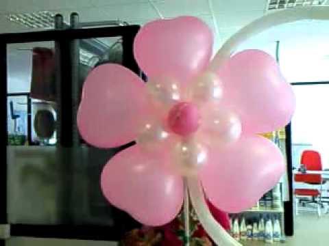 Allestimenti di palloncini nuvola feste sas youtube for Allestimenti per furgoni fai da te
