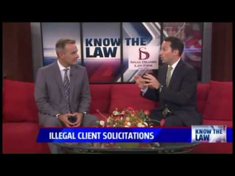 Illegal Client Solicitation By Lawyers - FOX 17 Know the Law