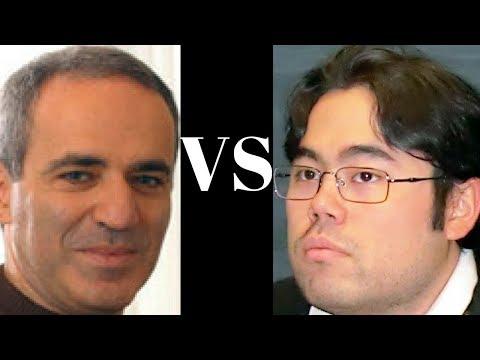 The return of the Chess legend :  Garry Kasparov vs Hikaru Nakamura : St. Louis Blitz 2017 - Rd 13