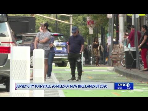Jersey City to install 20 miles of new bike lanes by 2020