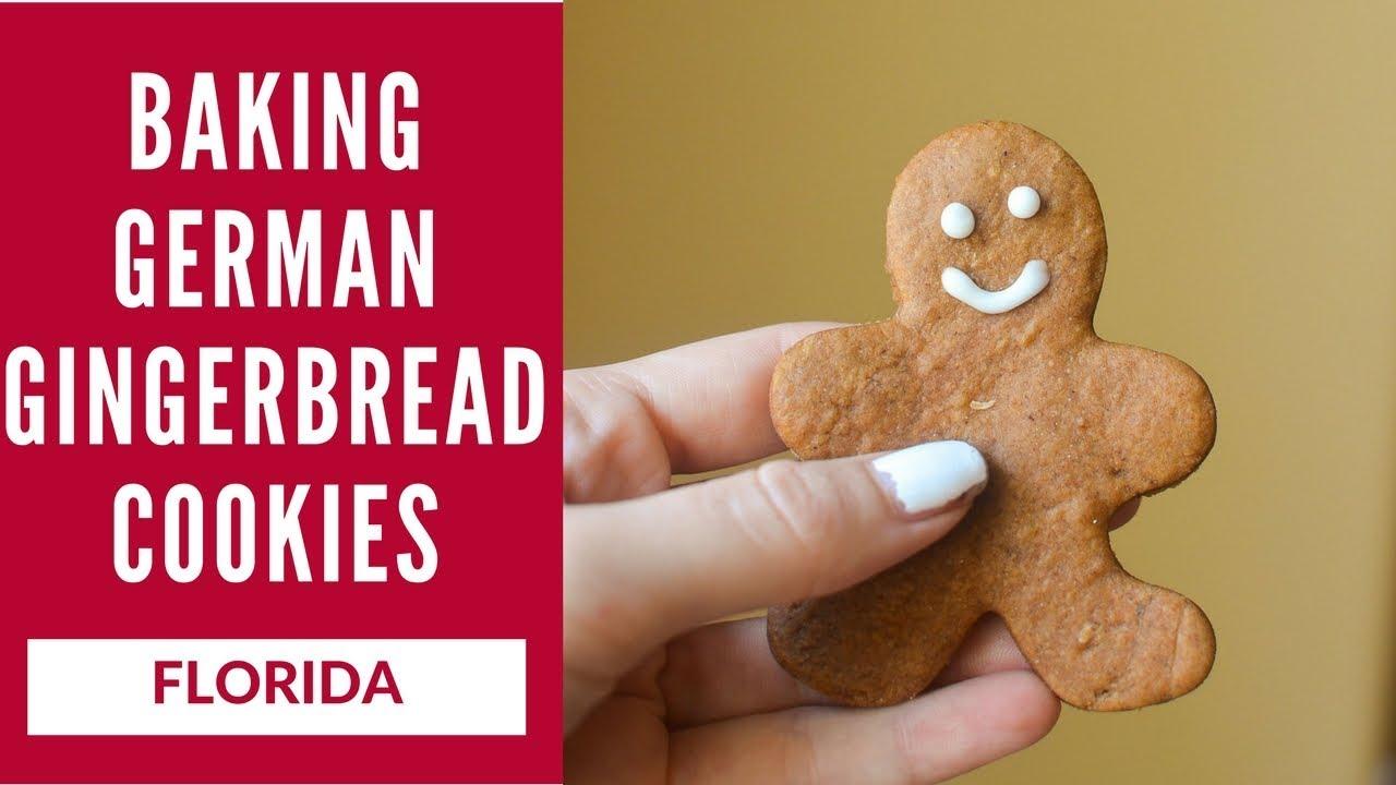 How To Make German Gingerbread Cookies Lebkuchen