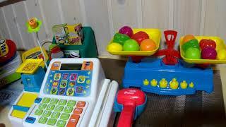 Детская касса с говорящими кнопками