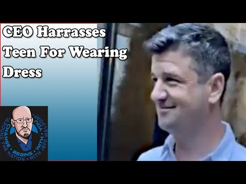 Download CEO HARASSES Dress Wearing Teen Boy