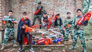 LTT Nerf War : SEAL X Warriors Nerf Guns Fight Criminal Group Thief Arsenal Nerf Mod