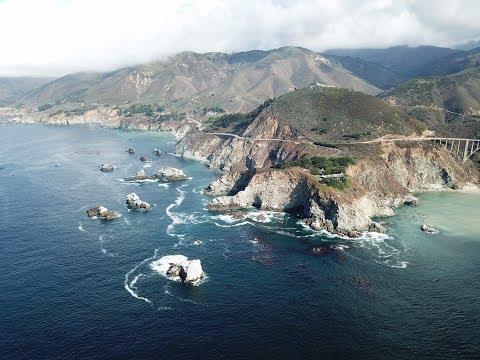 Epic Big Sur Drone Footage in 4K