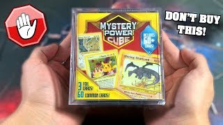 *BEWARE! THIS IS A TRAP!* Opening a STRANGE Pokemon Card Mystery Power Cube from WALMART!