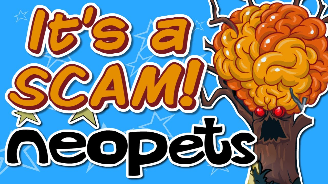 Scammed by a Tree (The Neopets Experience)