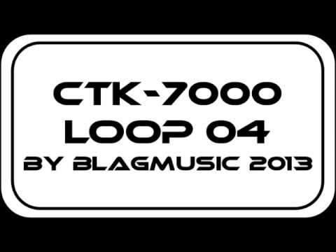Casio CTK-7000 Mellow Smooth Groove with a 90s Swing Feel