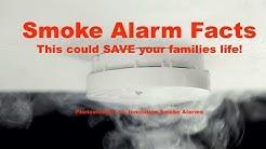"Smoke Alarm Facts:   ""Ionization vs  Photoelectric"""