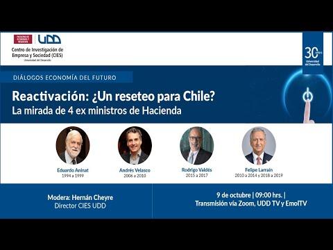 Reactivación: ¿Un reseteo para Chile? La mirada de 4 ex ministros de Hacienda