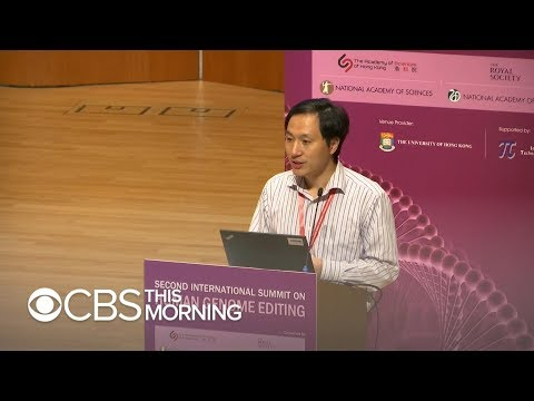 Adrian Long - Scientist claiming gene-edited babies reports 2nd pregnancy