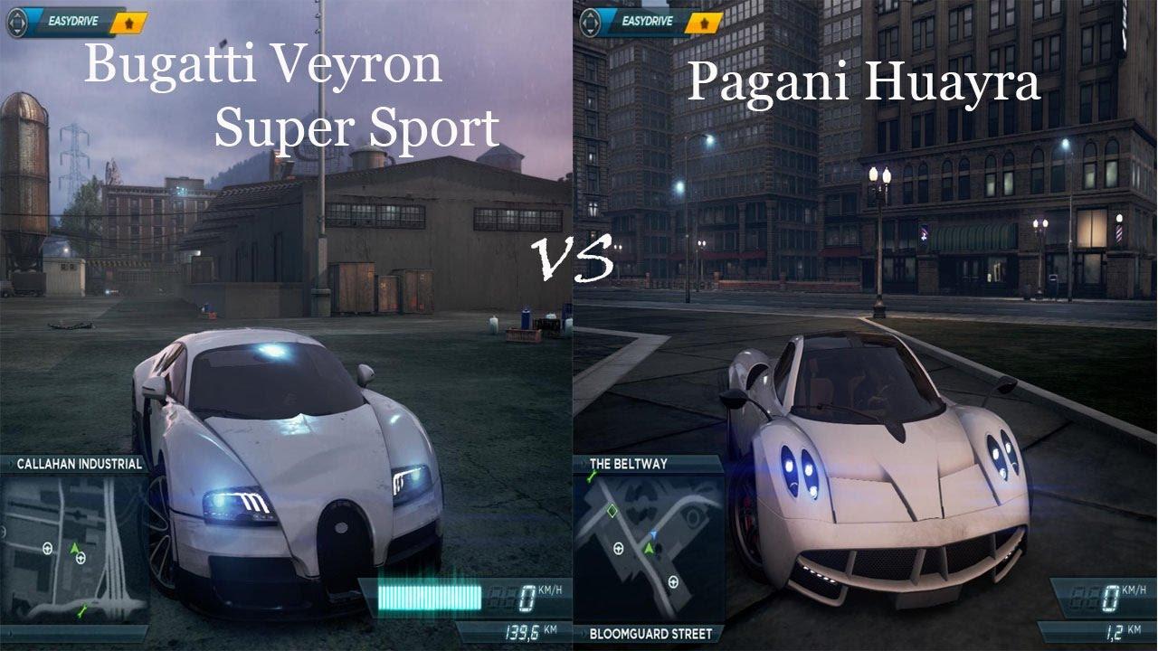 bugatti veyron super sport vs pagani huayra bugatti. Black Bedroom Furniture Sets. Home Design Ideas