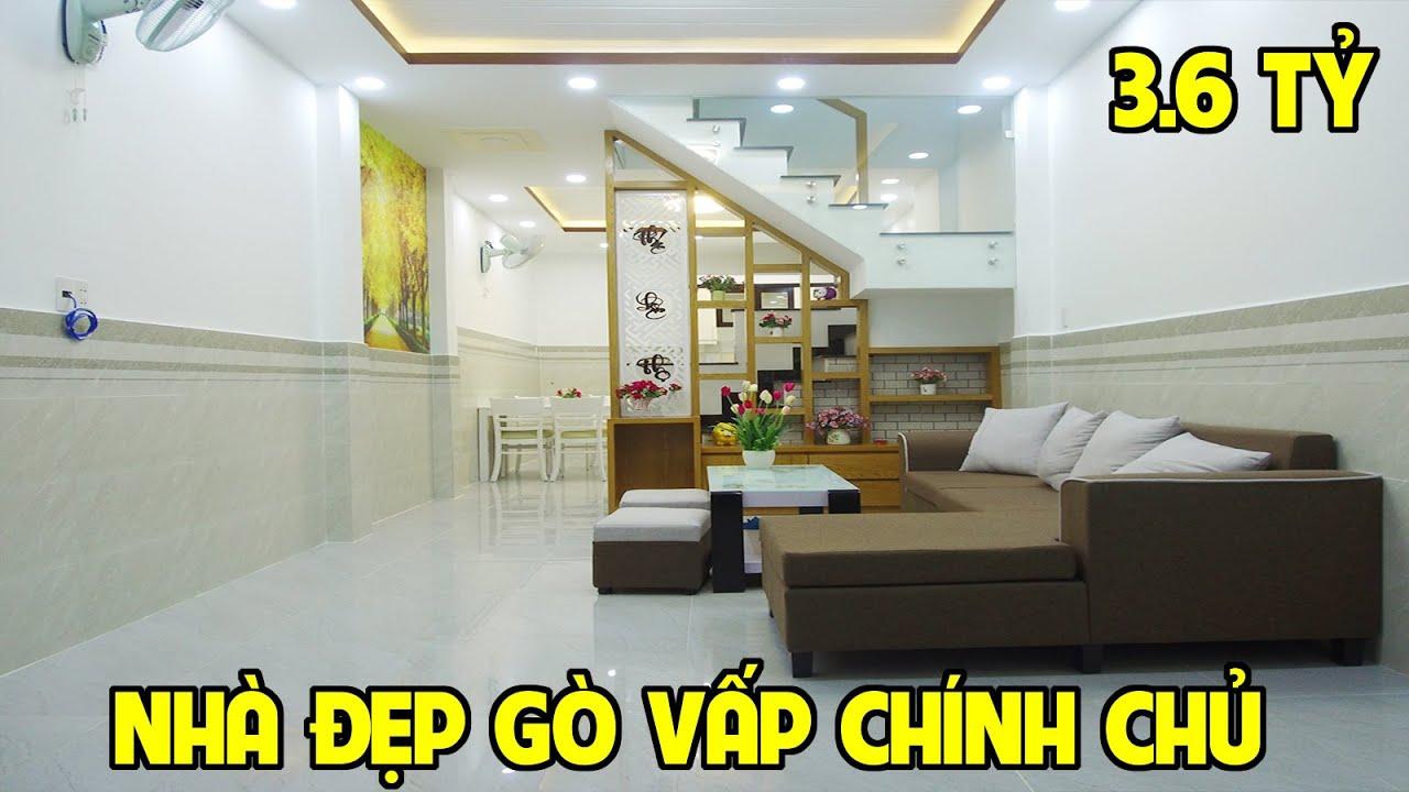 Bán nhà Gò Vấp - 3,65 tỷ mua ngay nhà phố tuyệt đẹp 2020 cách Quang Trung 20m