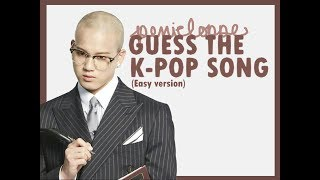 Video GUESS THE KPOP SONG (Easy Version) download MP3, 3GP, MP4, WEBM, AVI, FLV Juni 2018