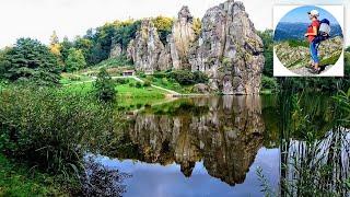 👣Externsteine -Teutoburgerwald (Horn-Bad Meinberg) Germany