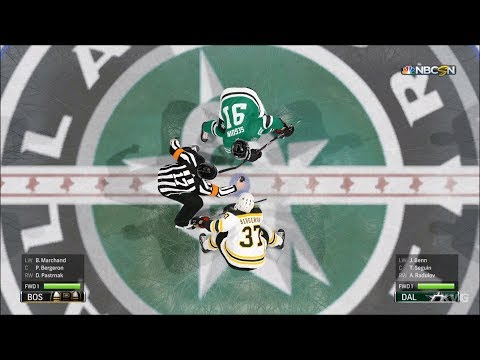 NHL 19 - Dallas Stars vs Boston Bruins - Gameplay (HD) [1080p60FPS]
