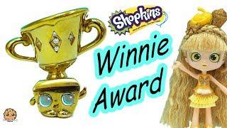 Limited Edition Winnie Award Gold & Diamonds Shopkins - Cookie Swirl C thumbnail