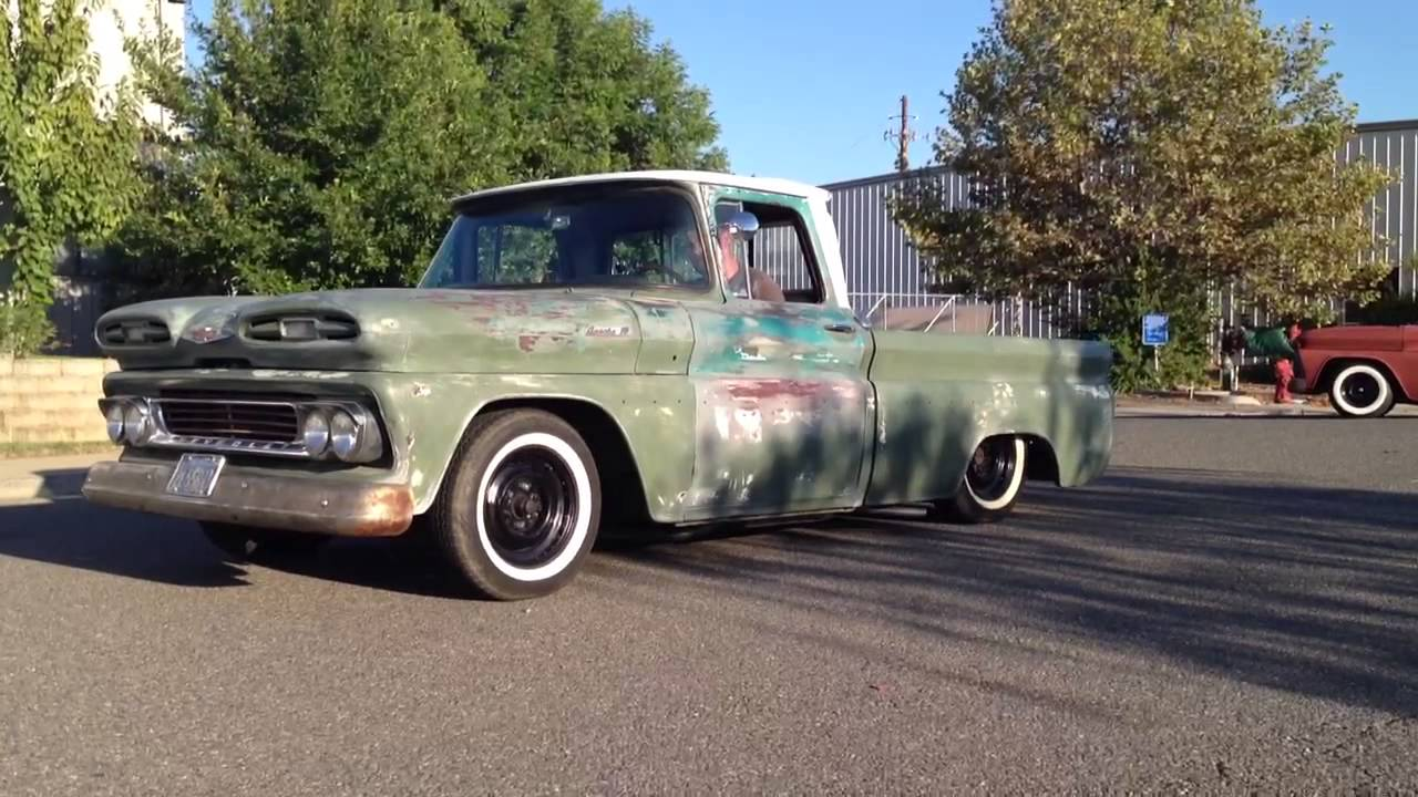Pickup 61 chevy pickup : 1961 apache10 ratrod - YouTube