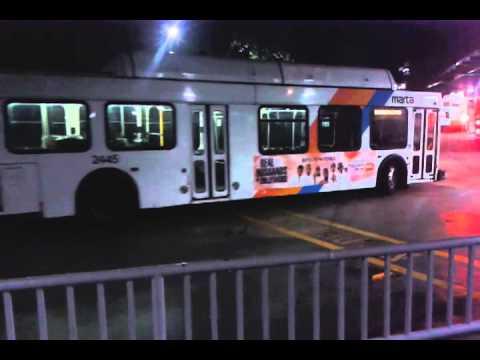 Marta Buses at Lindbergh Center Station