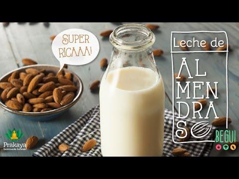 Leche de Almendras ♥ Preparación / Beneficios / Propiedades / Usos