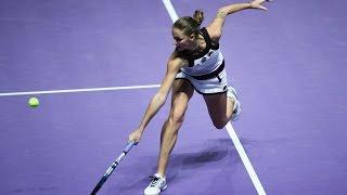 2016 WTA Finals Singapore: Day 4 Shot of the Day | Karolina Pliskova