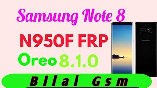 Samsung Galaxy Note8 N950F How To bypass FRP with Z3X and
