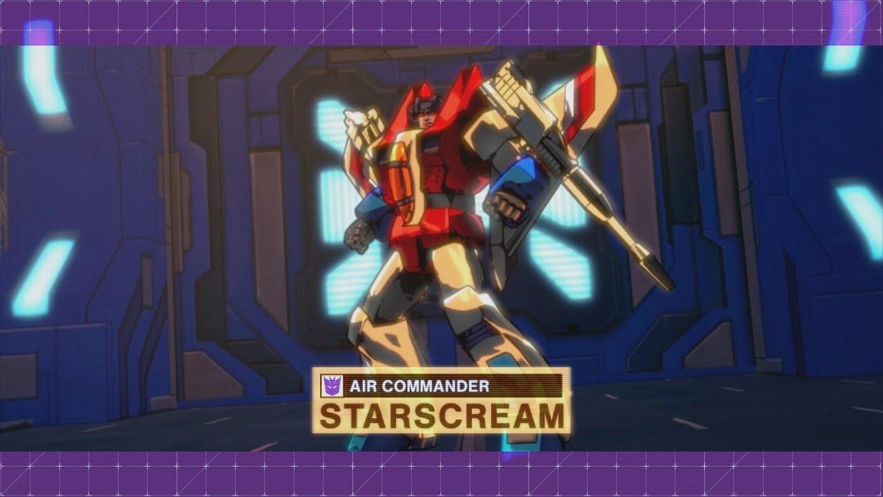 Transformers Devastation - Walkthrough Part 6 - Starscream