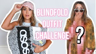 I BOUGHT AN ENTIRE OUTFIT BLINDFOLDED | ALEXANDREA GARZA