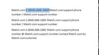 Match Customer Service 1-844-221-2543  Match support phone number