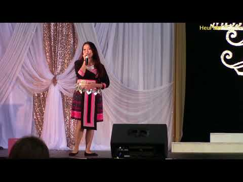 Sacramento Hmong New Year 2017-2018: Singing Comp Rnd 2 - Lina Lis