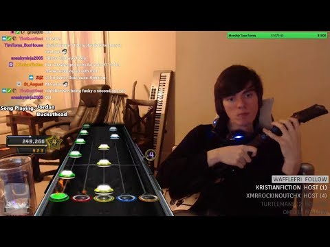 JORDAN BY BUCKETHEAD ~ ONE HANDED ~ 100% FC!!!!!!!!