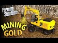 MINING GOLD | £70,000 SOIL SIEVING | FARMING SIMULATOR 17