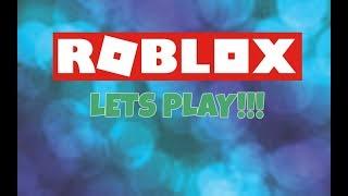 ROBLOX Deja jugar, ven y únete a mí ahora!!!!
