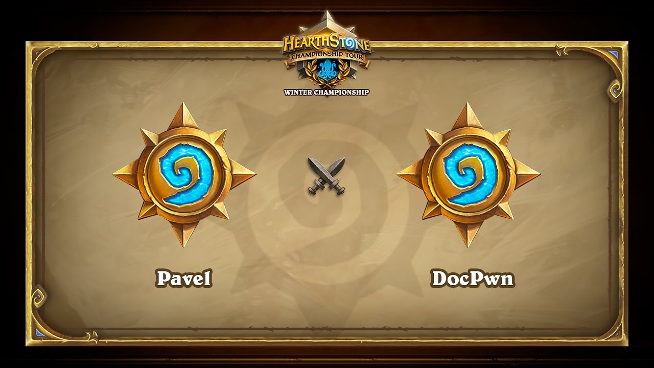 Pavel vs DocPwn, Hearthstone Winter Championship, Group C decider