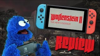 The ÜBERSWITCHPÖRT │ Wolfenstein 2 Review (Video Game Video Review)