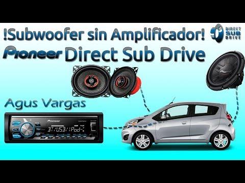 Conectar un subwoofer sin amplificador | Pioneer Direct Sub Drive | Instalacion y configuracion