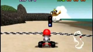 Mario Kart 64 Mushroom Cup 150cc