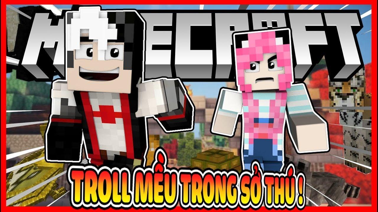 Redhoodvn Troll MỀu Trong SỞ Th 218 Minecraft TrỐn T 204 M Trong