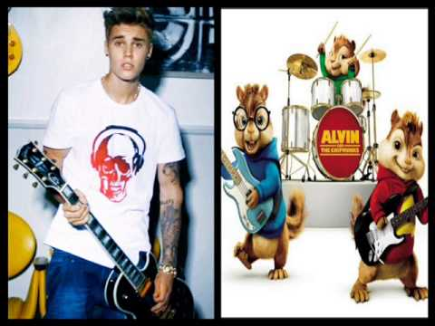 Justin Bieber Bad Day (Alvin and the Chipmunks version)