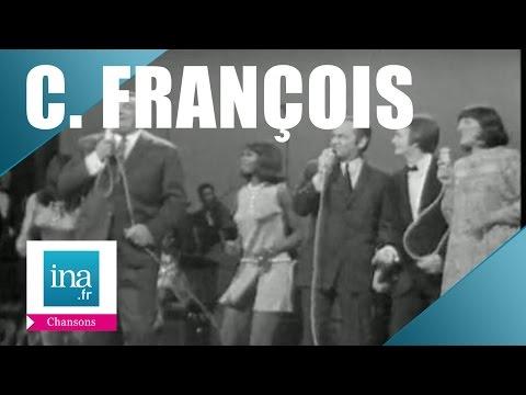 Henri Genès, Guy Lux, A-M Peysson et Claude François 'A la mi-août' (live officiel) - Archive INA