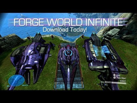 MCC: Halo Reach PC: Unlock Forge and Unlimited Forge Items Mod Tool! (Download) [LONGSWORD, FRIGATE]
