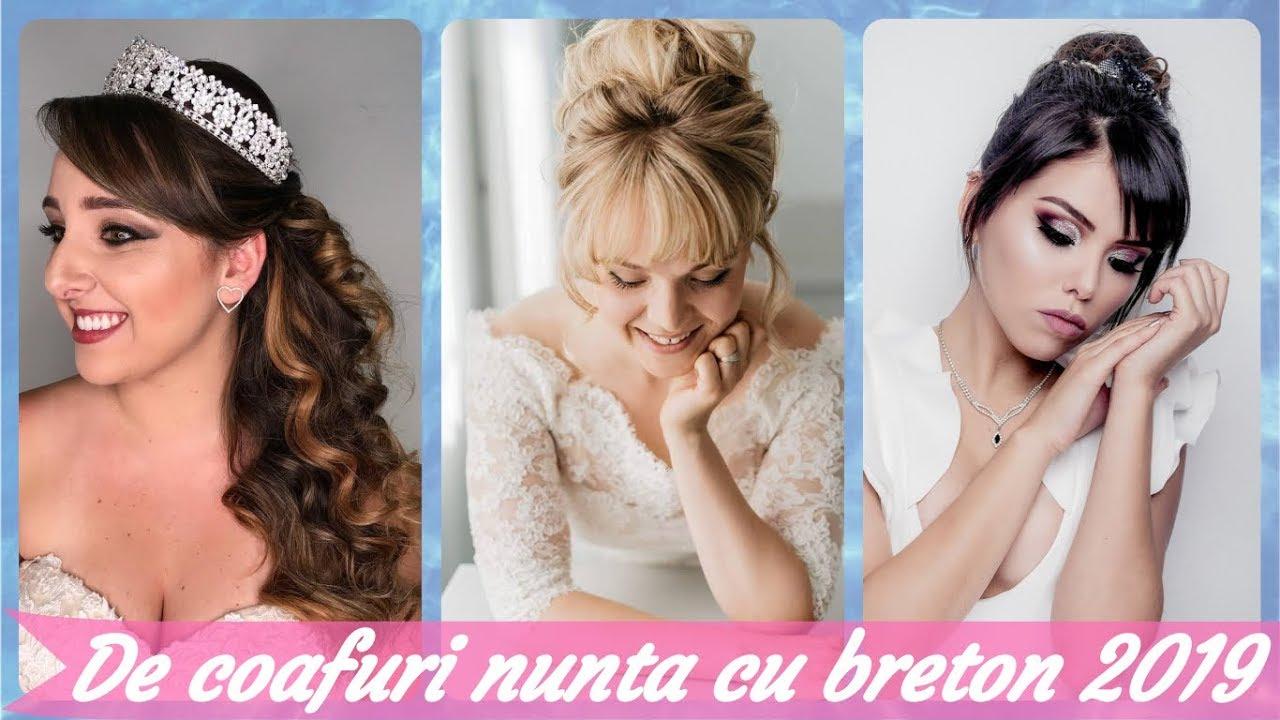 De Coafuri Nunta Cu Breton 2019 Youtube