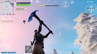 Shows how to glitch on Royal Fortnite Battle