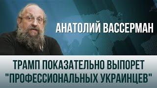 Анатолий Вассерман   Трамп показательно выпорет «профессиональных украинцев»
