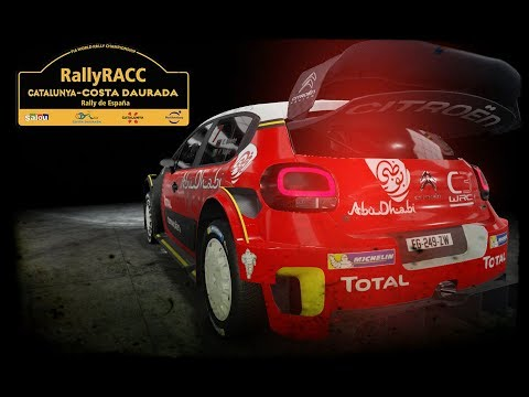 WRC 7 | RALLY RACC CATALUNYA RALLY DE ESPAÑA | CITROËN TOTAL ABU DHABI WRT |