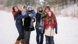 видео Отдых зимой в Подмосковье с семьей и друзьями