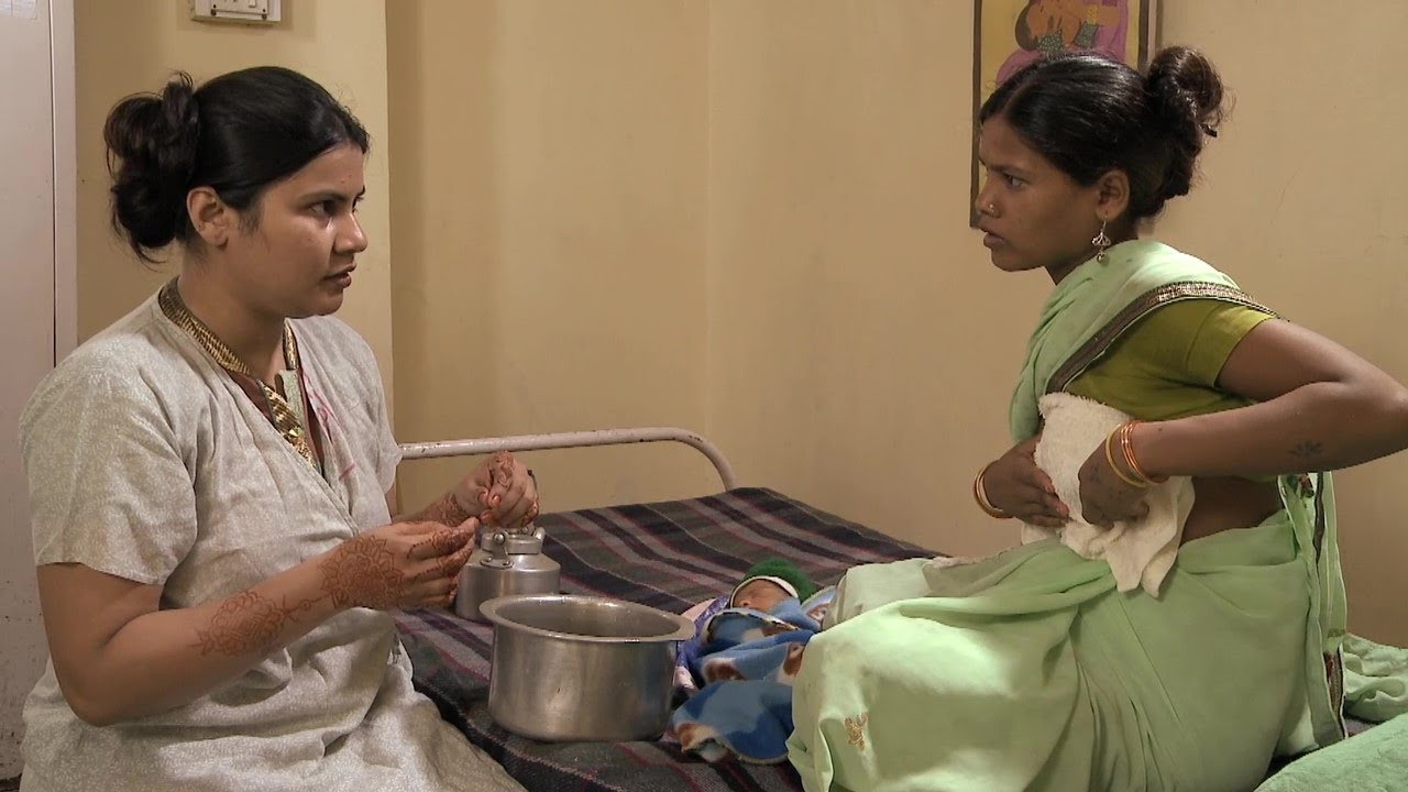 Breast Engorgement (Lao) - Breastfeeding Series