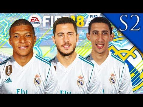 MBAPPE, HAZARD, DE GEA SIGN! FIFA 18: REAL MADRID CAREER MODE S2 #1